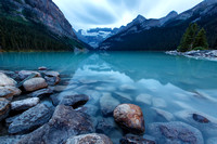 Feeling Calm at Lake Louise