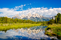 Tetons, Reflected