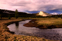 Tuolumne Meadow: view of Lembert Dome