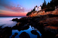Bass Harbor Lighthouse at Dawn