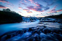 Bruarfoss Sunset